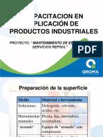 Capacitacion Aplicacion Productos Industriales