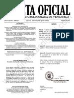 Gaceta Oficial N°42.193