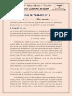 ACTIVIDAD NÚMERO 1-LA GRAMÁTICA-3°