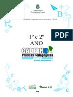 Caderno 3 - Matemtica - 1 e 2 Ano