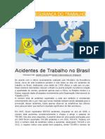 Acidentes de trabalho no Brasil