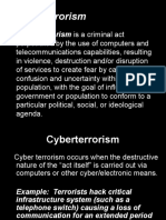 Research Paper A Synopsis On Cyber Terrorism And Warfare By  Cyber Terrorism Ppt Will Writing Service Uk also Science Essay Topic  Help Filling In A Business Plan