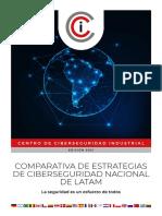 Comparativa de Estrategias de Ciberseguridad de LATAM