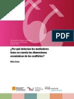 ECP-2009-07-Mediación y dimensión económica del conflicto