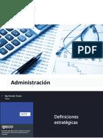 4.3 Proceso de planificacion  Definiones estrategicas y Objetivos