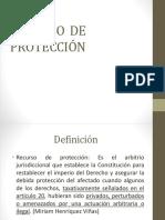 RECURSO DE PROTECCIÓN