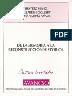 De La Memoria