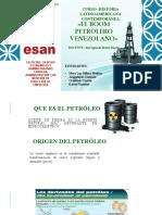 El Boom Petrolero en Venezuela Completo