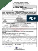 ORDEM DE SERVIÇO CONECT LOCAÇÃO E SERVIÇOS - motorista de onibus