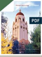 Hoover Institution 2010 Report
