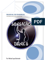 MANUAL DO BARMAN (Por Michael Lopes Bartender)