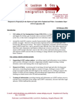 UKLGIG Legal Aid Response