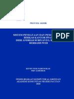 Sistem Pendataan Dan Pemantauan Berkas Kantor Ppat Der_kevin Nur P_1118020028
