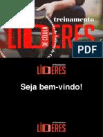TREINAMENTO LÍDERES DE CÉLULA 2021