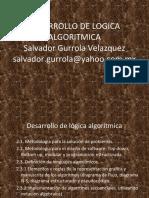 DESARROLLO DE LOGICA ALGORITMICA