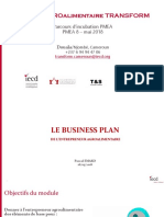 2018 05 17 Business Plan de l'entrepreneur - PMEA 8