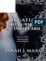 Sarah J. Maas - Regatul Gheturilor Si Al Instelarii