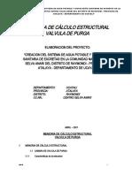9.- MEMORIA DE CALCULO VALVULA DE PURGA
