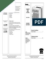 Danby Dac10560de User Manual