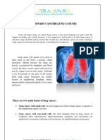 Pulmonary Cancer (Lung Cancer)