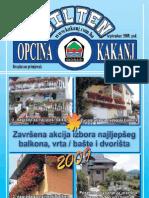 Bilten Opcine Kakanj - broj 12