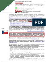 Alerta de Calatorie Cehia - 23.08.2021