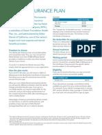 Kaiser Permanente California Dental Insurance Plan Brochure KPIF 2011