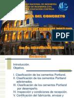 SEMANA 1.3 - EL CEMENTO - TIPOS DE CEMENTO PORTLAND