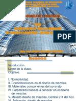 SEMANA 1.6 - DISEÑO DE MEZCLA DE CONCRETO - METODO COMITE 211 DEL ACI - 21.08.2020