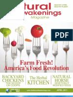 """Natural Awakenings"" Magazine, April 2011 issue"