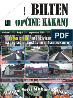 Bilten Opcine Kakanj - Broj 4