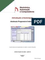 Introdução à Automação - Autómatos Programáveis Industriais - Programação LADDER e LISTA DE INSTRUÇÕES