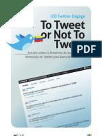 Estudio sobre la Presencia de las Marcas en Venezuela en Twitter para Atención al Cliente 2011
