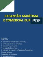 Expansão Marítima e Comercial Europeia