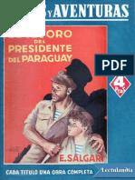 El Tesoro Del Presidente Del Paraguay - Emilio Salgari