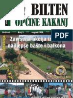 Bilten Opcine Kakanj - Broj 3