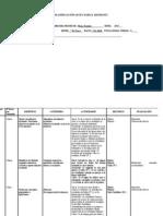 Planificacion matematica NM2