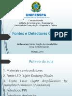 Aula 5 - Comunicações Ópticas (Fontes e Detectores Ópticos)