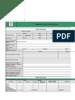 Formulario Contratistas - Documentaria y de Campo (Calidad)
