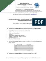 S 33_Informare Cazuri Cu Variante Care Determina Îngrijorare (VOC)