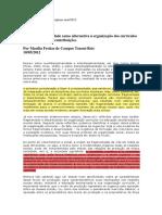 A interdisciplinaridade como alternativa àorganização curricular (1)