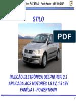 Fiat Stilo 8V e 16V Sistema de I_E_ HSFI 2