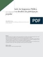 CRUZ_a Historicidade Da Seguranca Publica No Brasil e Os Desafios Da Participacao Popular