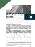Alberto Montero Soler - 50 años de economia al servicio del pueblo