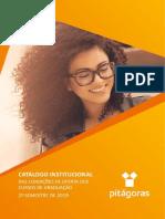 Catalogo Institucional Faculdade Pitágoras de Tecnologia de Contagem_2019.2