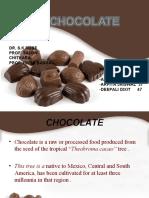 production of cadbury chocolate