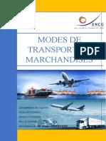 VF Word - Les différents  types de modes de transport