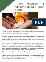A crise dos opioides