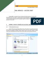 Access 2007 - tutorial básico