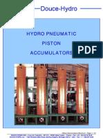 Piston accumulators brochure